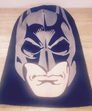 The Dark Knight Rises Batman Face Mask Black