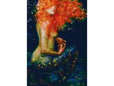 Counted Cross Stitch Kit RTO - Red mermaid