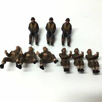 9Pcs 21st Century Toys The Ultimate Soldier 1:32 WWII US Army mini Figure doll