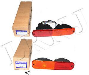 LAND ROVER FREELANDER 1 UP TO 2004 REAR BUMPER LAMPS LH & RH SET AMR3989 AMR3990