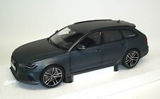 Audi rs6 avant c7 2013-Gris Matt Grey-Minichamps 110012012 1:18
