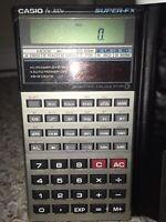 Vintage Casio FX-300V Super-FX Solar Powered Scientific Calculator