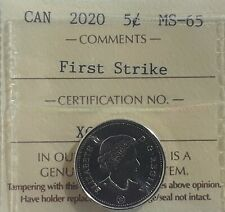 2020 Canada*First Strike*Year Set Complete with 50 Cent Piece in Display Holder