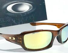 NEW* Oakley FIVES Squared Rootbeer w POLARIZED Galaxy Fire Lens Sunglass 9238-08