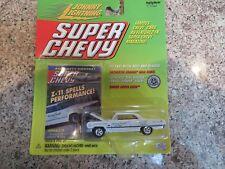 JOHNNY LIGHTNING 1968 SUPER CHEVY 1963 IMPALA Z-11 MAGAZINE DETAIL CAR RRs