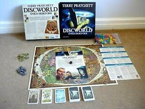 ANKH MORPORK DISCWORLD BOARD GAME COMPLETE SUPERB CON TERRY PRATCHETT