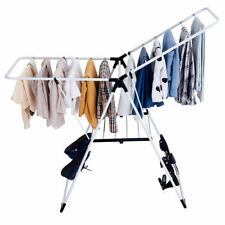Folding Drying Rack Portable Laundry Room Clothes Storage Hanger Dryer Stand