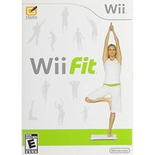 Wii Fit Game With Manual And Case Very Good 7Z