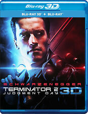 The Terminator 2 (Blu-ray 3D + Blu-ray) (2017) (3D/2D) (All Region) (New)