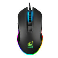 3200DPI R Light 6uttons Wired Pro Gaming Mouse For Laptop PC Computer_AU