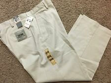 NWT DOCKERS D3 Classic Fit Easy Khaki Pants Flat Front Marble 40X30 MSRP $50