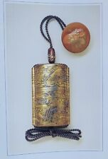 Japanese Antique Gift Book Lacquer Netsuke  2006 Collection save big