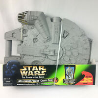 Star Wars Millennium Falcon Figure Carrying Case Imperial Scanning Kenner 1998