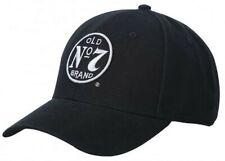 Jack Daniels Men's Old #7 Performance Baseball Ball Cap Hat Black/White JD77-134