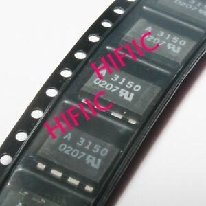 5PCS HCPL-3150 A3150 0.5 Amp Output Current IGBT Gate Drive Optocoupler SOP8