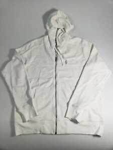 True Religion Sample White Turtleneck Zipper Sweater Size XL