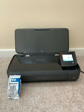 HP OfficeJet 250 Mobile All-in-one Printer w FREE Unopened Ink Cartridge Bundle