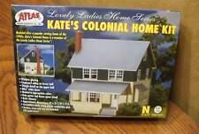 ATLAS KATE'S COLONIAL HOME N SCALE BUILDING KIT