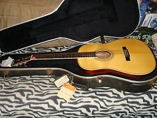 WASHBURN D-34S Acoustic *Natural-finish, w/o pick-gaurd & L.R. Bagg's 2stage P/U
