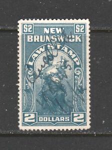 CANADA REVENUE NEW BRUNSWICK LAW  NBL17  USED