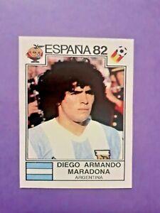 "FIGURINA CALCIATORI PANINI ARGENTINA N.176 MARADONA ESPANA 82 ""REPRINT"" NEW"