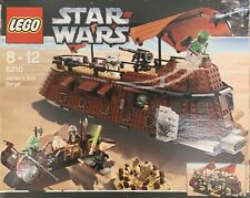 Rare lego Star Wars Set No 6210 pre-owned, Jabba's Sail Barge, 100% Complete.