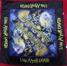 IRON MAIDEN Live After Death BANDANA HEAD WRAP HANDKERCHIEF CD LP DVD