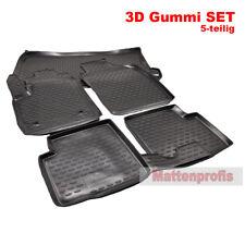 MP 3D Gummimatten + Kofferraumwanne SET für Fiat 500 + 500 Cabrio ab Bj.2013 Nov