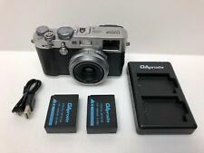 READ - Fujifilm X100F Digital Camera - Silver