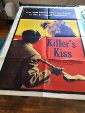 KILLER'S KISS: ONE-SHEET FILM POSTER *STANLEY KUBRICK FILM*