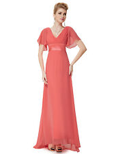 US Long Formal Prom Dress Bridesmaid Maxi Evening Party Ball Gown Cocktail 09890