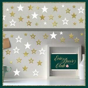 Star Bubble Wall Decals Set Nursery vinyl stickers Confetti Stars bubbles decor