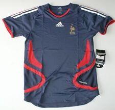 Maillot Equipe de France FFF collector Garcon Bleu ADIDAS  14 ans - réf : 072153