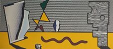 Roy Lichtenstein, Figures, Hand Signed Lithograph A.P.