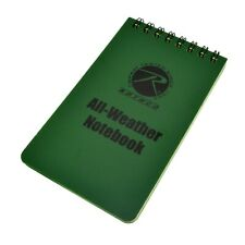 Rothco 3x5 Waterproof All Weather Notebook Memo Pad Spiral Bound Writing Paper