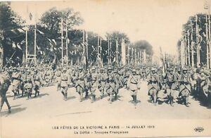 Les Fetes de la Victoire A Paris 14 Juillet 1919 Paris Victory Celebration
