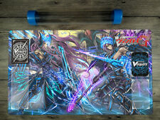CARDFIGHT!! Vanguard VG Custom Playmat with Card Zones Free High Quality Tube