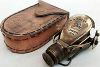 Antique Brass Monocular Binocular Telescope Vintage Nautical Spyglass Scope