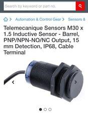 3 x Telemecanique Sensors M30 x 1.5 Inductive Sensor