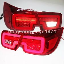 2012-2014 Year For CHEVROLET Malibu LED Strip Tail Lights Rear Lamp Red Color WH