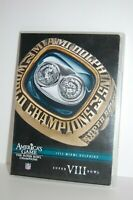 Miami Dolphins 1973 Super Bowl Champions DVD America's Game NFL Used