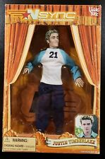 Nsync - Justin Timberlake - Living Toyz Action Figure / Marionette - See Pics!