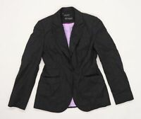 Marks and Spencer Womens Grey   Jacket Suit Jacket Size 10