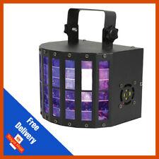 QTX Derby 9 DJ Disco DMX Multi-Colour Beam 3W LED Lighting Effect with Remote
