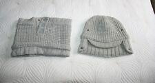 Stella McCartney For Adidas Ski Hat & Snood In Grey