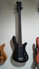 1999 German Warwick Streamer Standard 5 String Bass with HSC