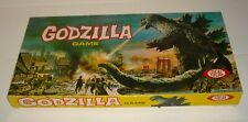 1963 IDEAL TOYS GODZILLA MONSTER BOARD GAME in BOX NICE LID with INSERT CLEAN