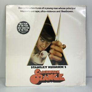 Stanley Kubrick's CLOCKWORK ORANGE (Laserdisc, 1971) SEALED