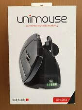 NEW Contour Unimouse 6 programmable buttons, 10 DPI settings Right Hand Wireless