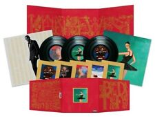 Kanye West My Beautiful Dark Twisted Fantasy vinyl 3 LP 2 x gatefold, poster